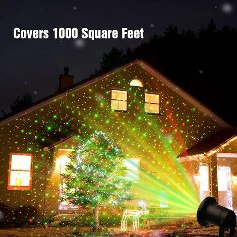 Proiettore Luci Laser Natale.Proiettore Luci Laser Da Esterno Su Picchetto Fantasia Punti Addobbo