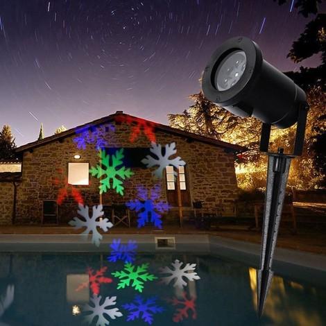Luci Natale Esterno.Proiettore Luci Natale Per Esterno 2016 Disegni Figure Picchetto Addobbi