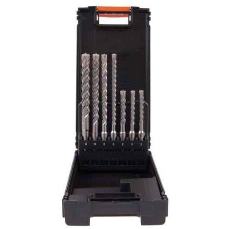 PROJAHN Coffret ABS 7 forets béton SDS-Plus ROCKET 5 - 83744