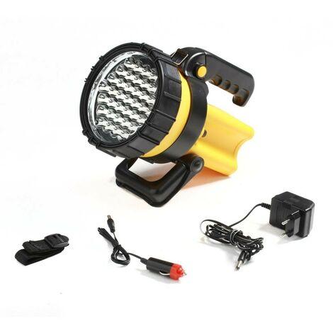 Projecteur 37 LEDs rechargeable