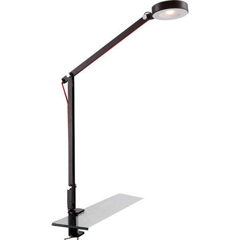 Projecteur à pince à LED, métal, mobile, Spot Globo WILO
