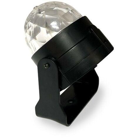 Projecteur boule à facettes effet disco