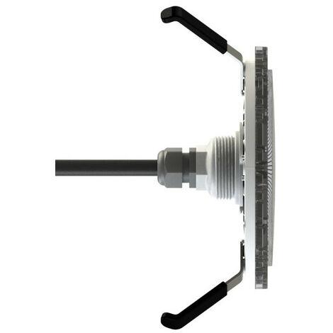 Projecteur Brio Z LED blanc - Couleur enjoliveur: Gris