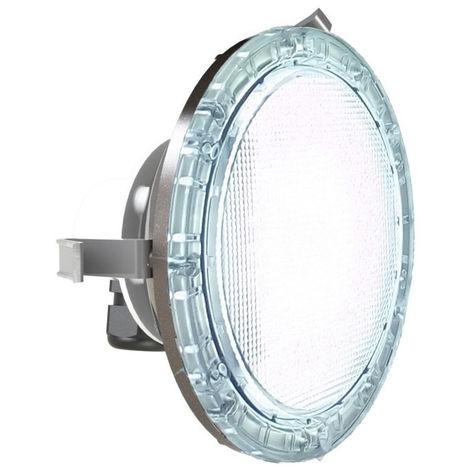 Projecteur Brio Z LED blanc - Couleur enjoliveur: Inox