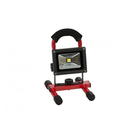 Chantier 10w Batterie Projecteur Led eH2WEYD9I