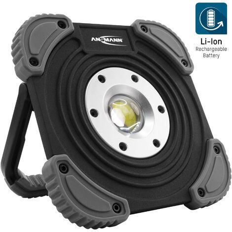 Projecteur de chantier à accu à LED ANSMANN 1400lm, 10W - rech. & var., IP64