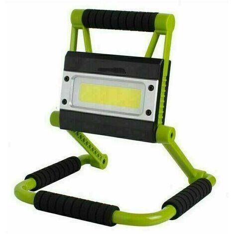Projecteur de Chantier LED , Lampe Chantier LED, Imperméable, Chantier LED Portable, Rotation à 360°, Super Brillante, Câble .