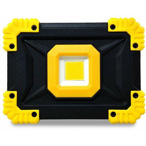 Projecteur de chantier sur batterie