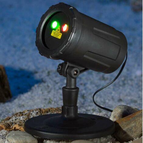 Projecteur de façade laser 6 fonctions à télécommande