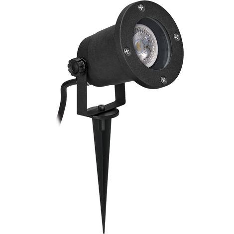 Projecteur de jardin ASTER IP65 GU10 noir