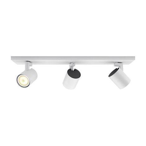 Projecteur de plafond 16.5 W 3x GU10 Philips Lighting White ambiance Runner 5309331P7 blanc 1 pc(s)