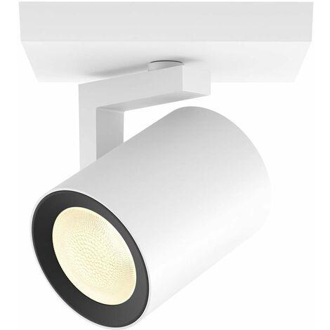 Projecteur de plafond 1x GU10 Philips Lighting Argenta 50621/31/P7 blanc 1 pc(s)