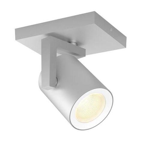 Projecteur de plafond 1x GU10 Philips Lighting Argenta 50621/48/P7 aluminium 1 pc(s)