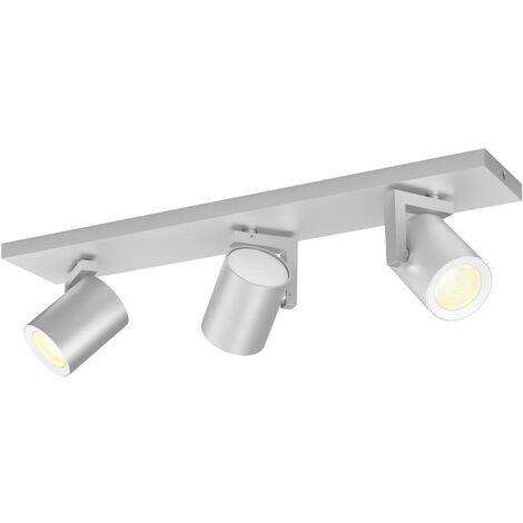 Projecteur de plafond 21 W 3x GU10 Philips Lighting Argenta 50623/48/P7 aluminium 1 pc(s)