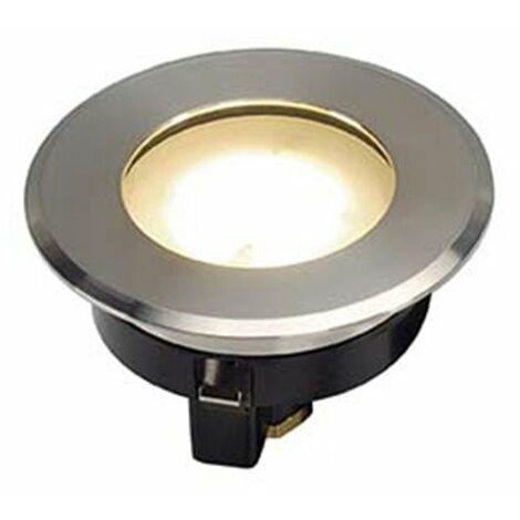 Projecteur encastré de sol Dasar Flat 80 LED - Rond - 3000K - 4,3W