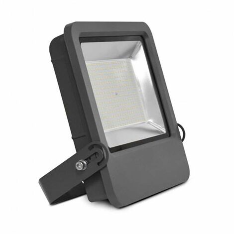 Projecteur Ext LED 200W (1800W) IP65 Finition grise Blanc jour 4000°K