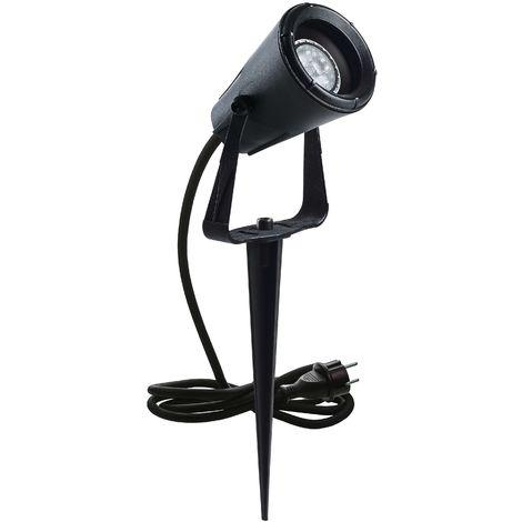 Projecteur GERONIMO IP67 GU10 Noir