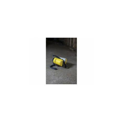 Projecteur Jaune et Noir PERI, LED Intégrée, 21W, 2000 lumens, 5000K, IP54, 230V, Classe II ref 6293-5KGR