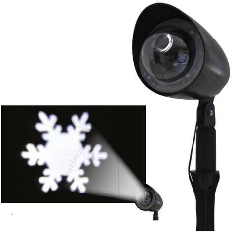 Projecteur Laser de Noël Giocoplast à Led avec image Flocon de Neige