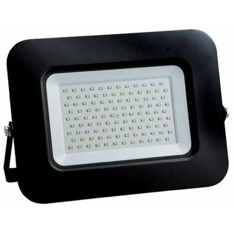 Projecteur LED 100W (600W) Noir Premium Line IP65 8500lm - Blanc Naturel 4500K