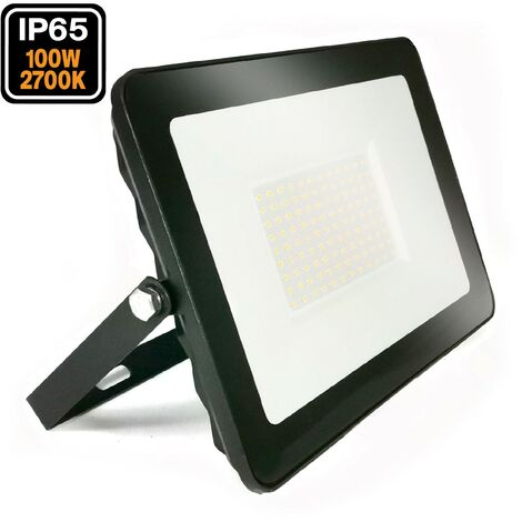 Luminosité 100w Blanc 2700k Black Ipad Led Haute Chaud Projecteur lJc3T1FK