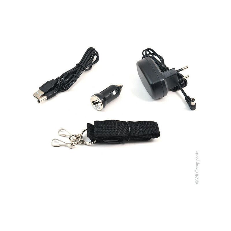 Lumens Projecteur Led 735 Rechargeable 10w WED29YeHbI