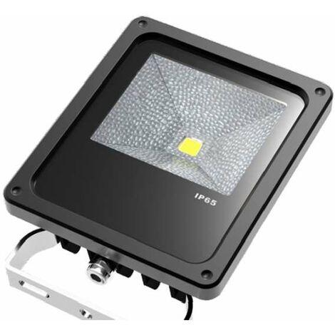 Projecteur LED 10W COB - éclairage 60W - Blanc Naturel 4100K