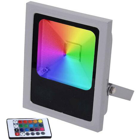 Projecteur Led 10W RGB Multicolore