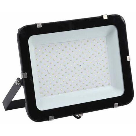 Projecteur LED 200W (eq 1200W) Noir 24000lm IP65 - Blanc Naturel 4500K