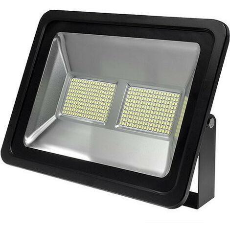 Projecteur LED 200W Noir étanche IP66 16000lm (1200W) - Blanc du Jour 6000K