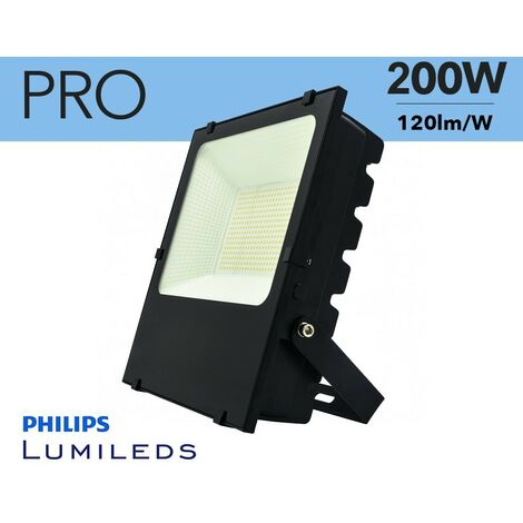 Projecteur LED 200W puces Philips IP65   Blanc Froid