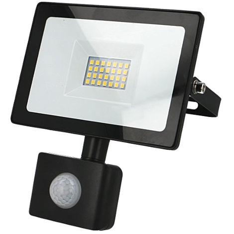 Projecteur LED 20W 4000K avec détecteur