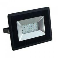 Projecteur LED 20W Noir IP65 Extérieur | Température de Couleur: Blanc froid 6400K
