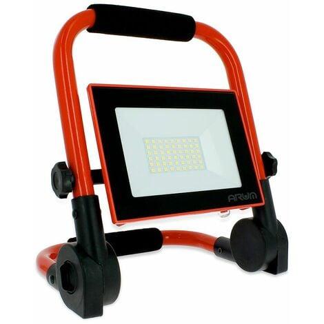 """main image of """"Projecteur LED 20W rechargeable pour chantier Eq 100W"""""""