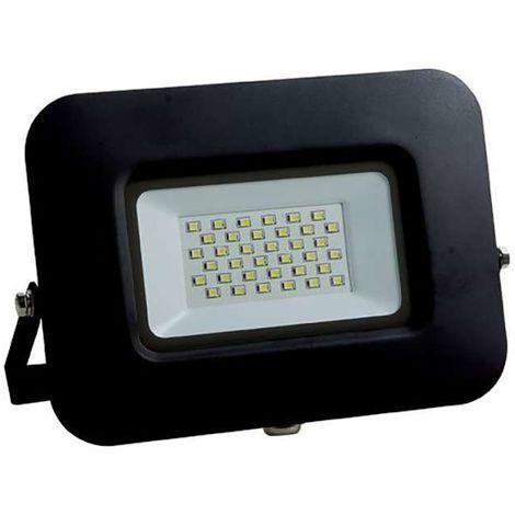 Projecteur LED 30W (150W) Noir Premium Line IP65 2550 lumens Optonica
