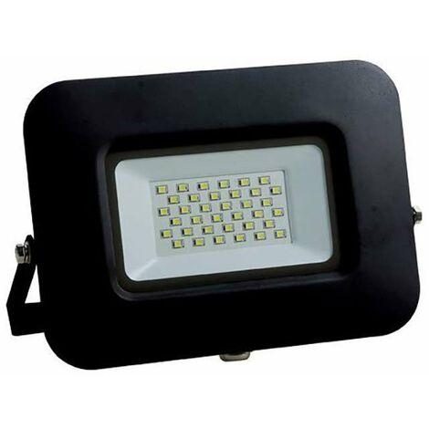 Projecteur LED 30W (150W) Noir Premium Line IP65 2550lm - Blanc Naturel 4500K