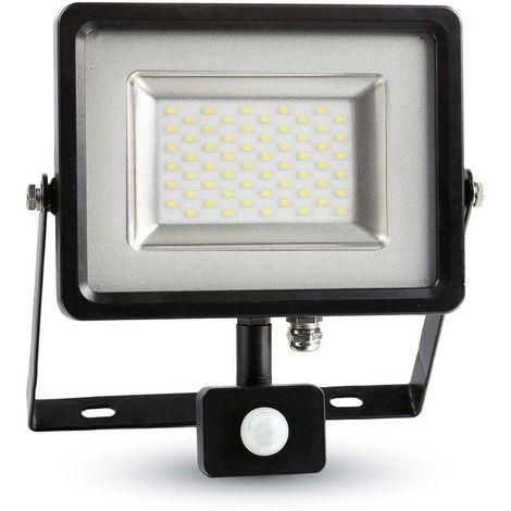 Projecteur LED 30W à détecteur (150W) V-TAC