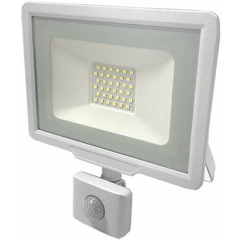 Projecteur LED 30W à détecteur IP65 2400 lumens (150W)