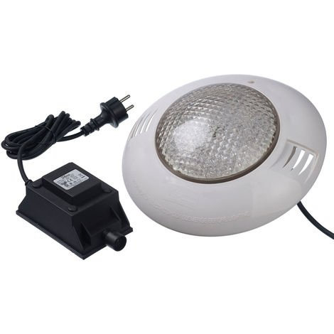 Projecteur LED 350 blanc froid 24W pour piscine bois - Ubbink
