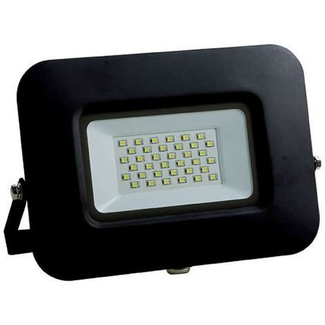 Projecteur LED 50W (240W) Noir Premium Line IP65 4250lm - Blanc Chaud 2800K