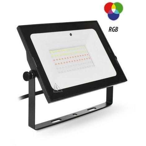 Projecteur Led 50W (450W) IP65 RGB 16 couleurs avec télécommande