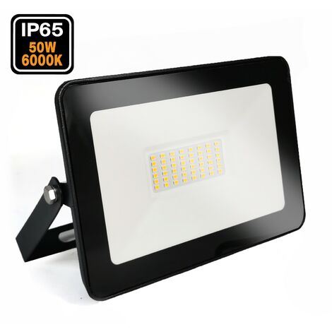 Projecteur LED 50W Ipad Blanc froid 6000K Haute Luminosité