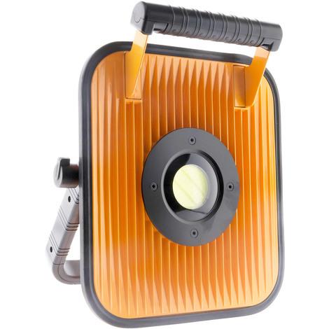 Projecteur LED à batterie pour chantier avec haut parleur et bluetooth - IP54 - 30/50W