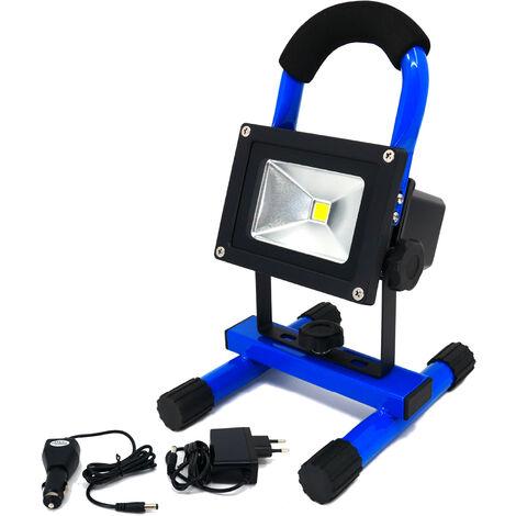 Projecteur LED avec batterie 4400mA - 10W IP65 - K•POWER LIGHT - Keli France - 691010