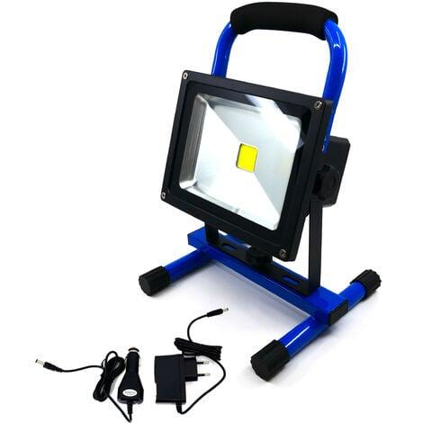Projecteur LED avec batterie 6600mA - 20W IP65 - K•POWER LIGHT - Keli France - 691020