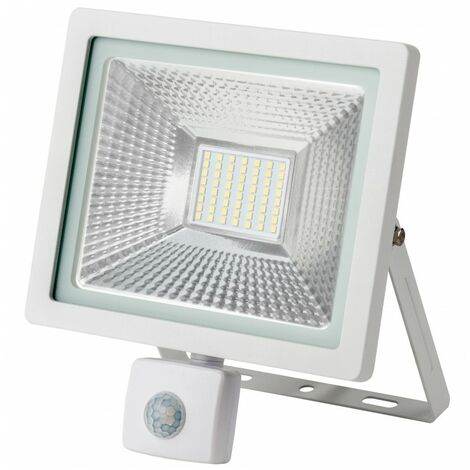 - Projecteur LED avec détecteur - 30W - IP65 - WAVE - Ecolife Lighting®
