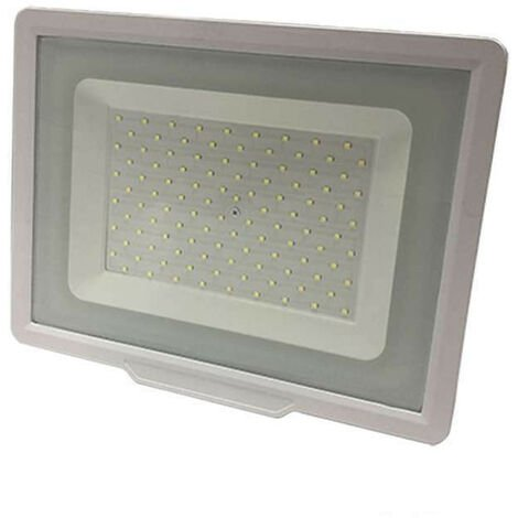 Projecteur LED Blanc 100W (500W) IP65 8000 lumens - Blanc Chaud 2700K