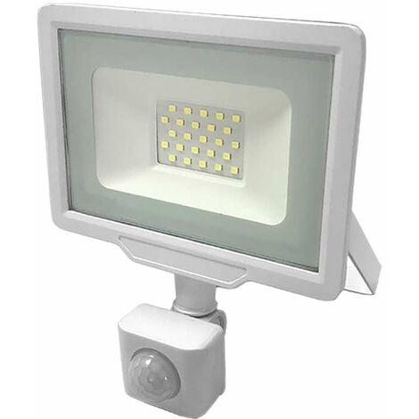 """main image of """"Projecteur LED 20W à détecteur IP65 1600 lumens (100W)"""""""