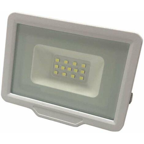 Projecteur LED Blanc 20W (100W) Étanche IP65 1600lm - Blanc du Jour 6000K