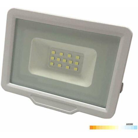 Projecteur LED Blanc 30W (200W) Étanche IP65 2400lm - Blanc du Jour 6000K